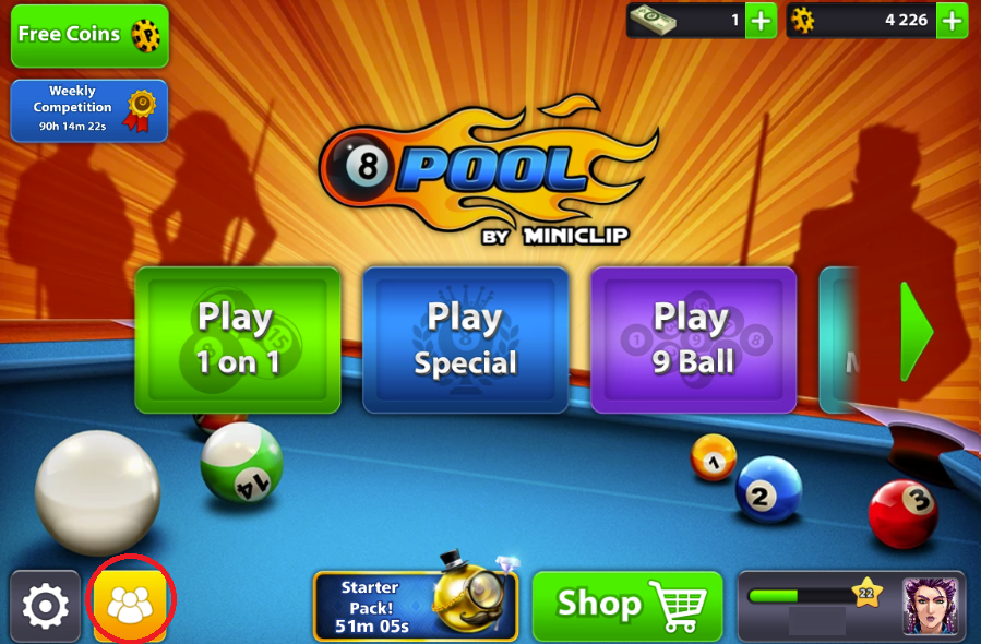 How to Add/Remove Friends (8 Ball Pool) – Miniclip Player
