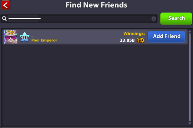 how to add remove friends 8 ball pool miniclip player experience