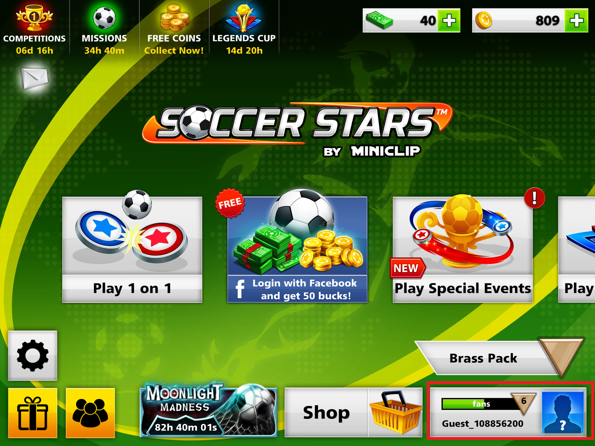fb04611f0a53 You ll see your Player Profile displayed with your Soccer Stars User ID