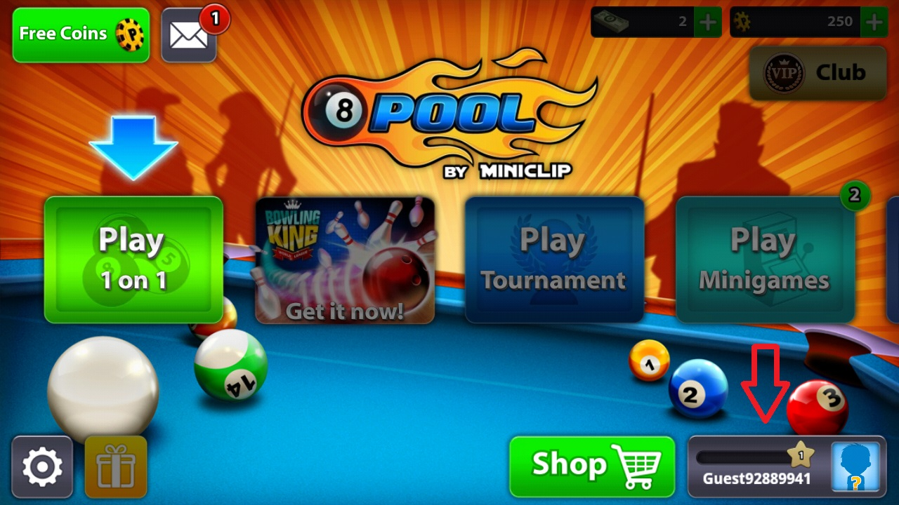 How to find your Unique ID (8 Ball Pool) – Miniclip Player ... -