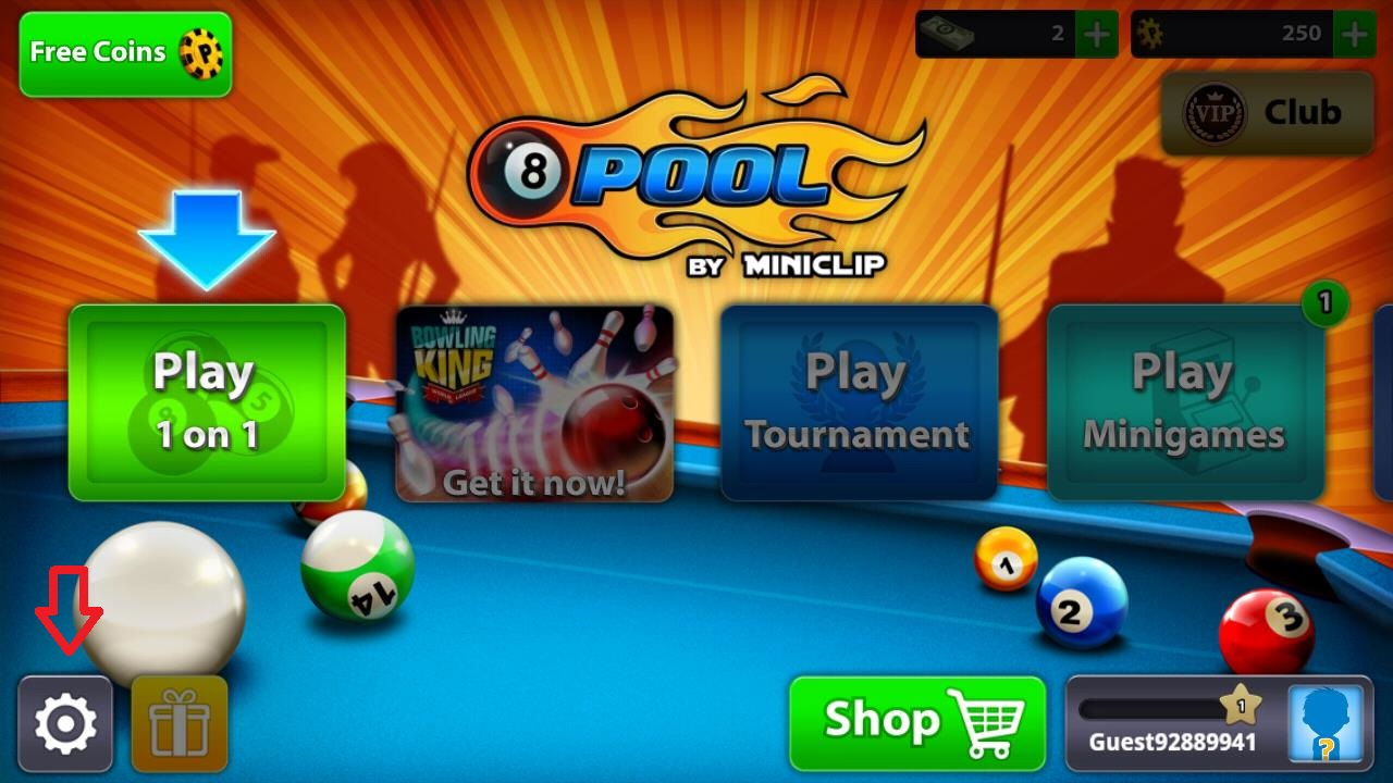 Setting the Power Bar (8 Ball Pool) – Miniclip Player Experience -